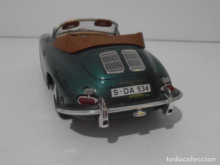Coches a escala: COCHE A ESCALA 1/18, PORSCHE 356 VERDE BURAGO - Foto 4 - 247966275