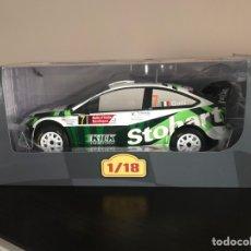 Coches a escala: FORD FOCUS WRC - RALLY ITALIA 2008 - G. GALLI - RALLY RALLYE ALTAYA IXO ESCALA 1/18. Lote 253958135