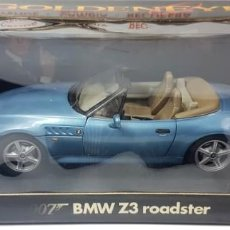 Coches a escala: BMW Z3 ROADSTER GOLDENEYE JAMES BOND 007 DIECAST 1/18. Lote 257409140