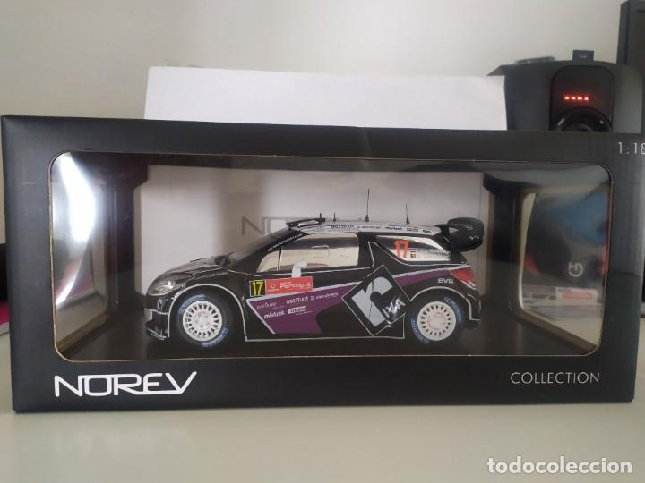 CITROEN DS3 WRC 1/18 NOREV MERKSTEIJN RALLY PORTUGAL 2012 (Juguetes - Coches a Escala 1:18)