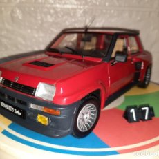 Coches a escala: RENAULT 5 TURBO,UNIVERSAL HOBBIES,ESCALA 1/18. Lote 258154210