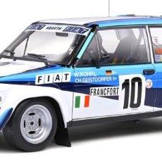 Coches a escala: FIAT 131 ABARTH MONTE CARLO 1980 ESCALA 1/18 DE SOLIDO. Lote 262631540