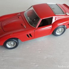 Coches a escala: BURAGO / FERRARI GTO - 1962 / ESCALA 1:18 / COMO SE VE EN LA FOTO.. Lote 263954285