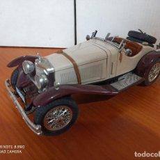 Coches a escala: COCHE MERCEDES BENZ SSK - 1928 - BURAGO - ESCALA 1/18 - ITALIA - METAL (DG). Lote 266063218