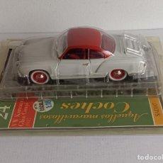 Voitures à l'échelle: VW KARMANN GHIA COUPE 1957 ESCALA 1/18 SALVAT. Lote 266756628