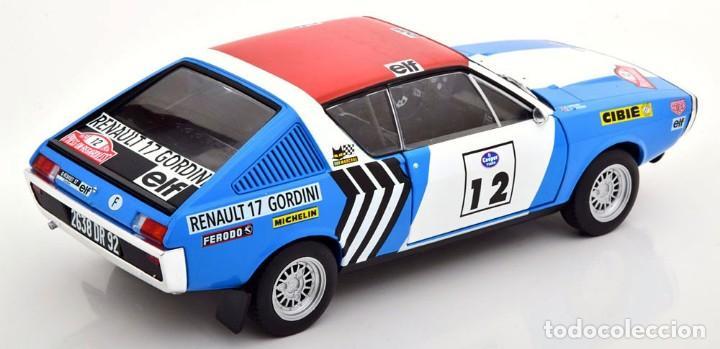 Coches a escala: Renault 17 Rally Press on Regardless 1974 escala 1/18 de Solido - Foto 2 - 269085353
