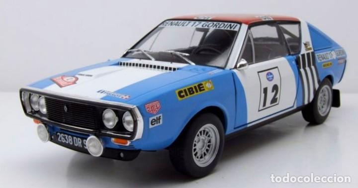 Coches a escala: Renault 17 Rally Press on Regardless 1974 escala 1/18 de Solido - Foto 3 - 269085353