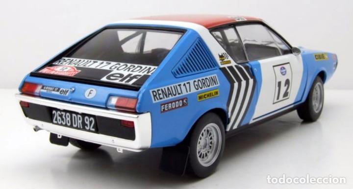 Coches a escala: Renault 17 Rally Press on Regardless 1974 escala 1/18 de Solido - Foto 4 - 269085353