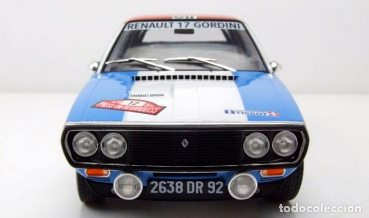 Coches a escala: Renault 17 Rally Press on Regardless 1974 escala 1/18 de Solido - Foto 5 - 269085353