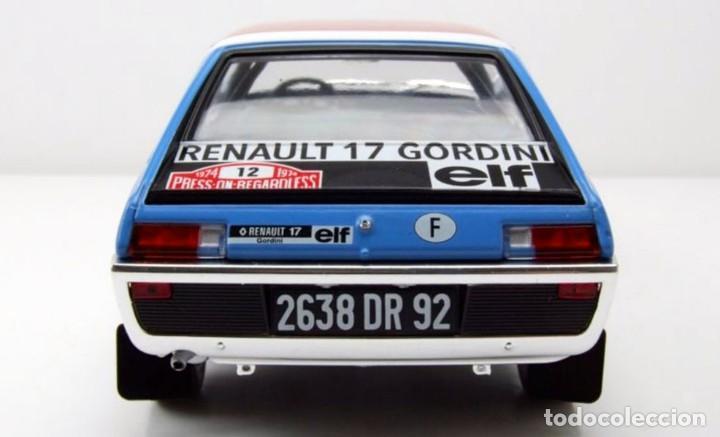 Coches a escala: Renault 17 Rally Press on Regardless 1974 escala 1/18 de Solido - Foto 6 - 269085353