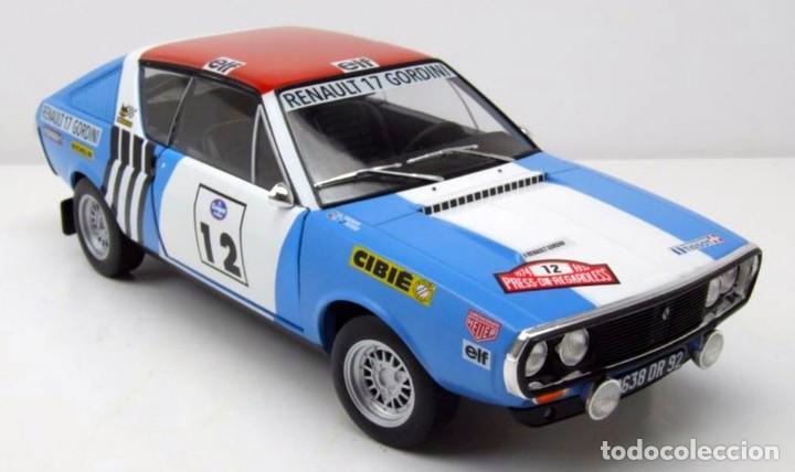 Coches a escala: Renault 17 Rally Press on Regardless 1974 escala 1/18 de Solido - Foto 7 - 269085353