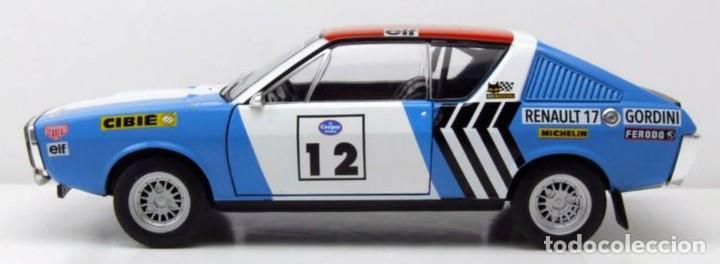Coches a escala: Renault 17 Rally Press on Regardless 1974 escala 1/18 de Solido - Foto 8 - 269085353