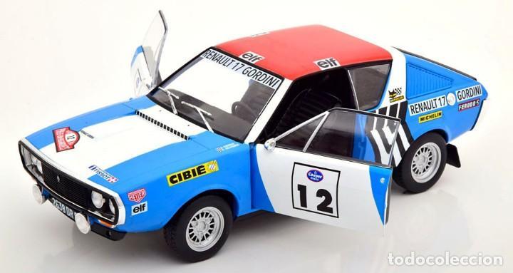 Coches a escala: Renault 17 Rally Press on Regardless 1974 escala 1/18 de Solido - Foto 9 - 269085353