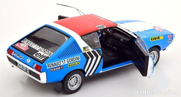 Coches a escala: Renault 17 Rally Press on Regardless 1974 escala 1/18 de Solido - Foto 10 - 269085353