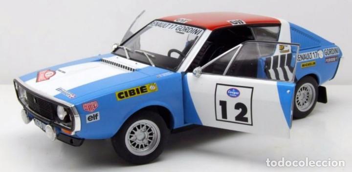 Coches a escala: Renault 17 Rally Press on Regardless 1974 escala 1/18 de Solido - Foto 11 - 269085353