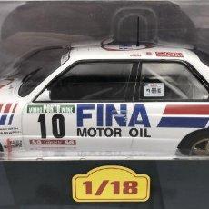 Coches a escala: COCHE RALLY BMW M3 / 1989 - M. DUEZ (ESCALA 1:18) IXO,RALLYE,FINA MOTOR OIL,COMPETICION. Lote 270696448