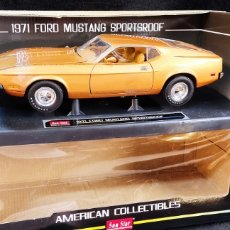 Coches a escala: FORD MUSTANG SPORTSROOF 1971, ESCALA 1/18 SUN STAR. Lote 270752383