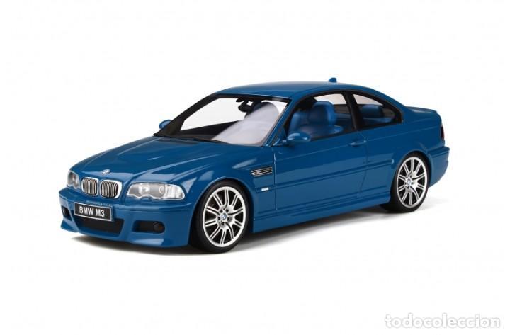 BMW M3 E46 2000 AZUL ALGUNA SECA. ESCALA 1/18 OTTO MOBILE (Juguetes - Coches a Escala 1:18)