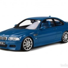 Coches a escala: BMW M3 E46 2000 AZUL ALGUNA SECA. ESCALA 1/18 OTTO MOBILE. Lote 282483288
