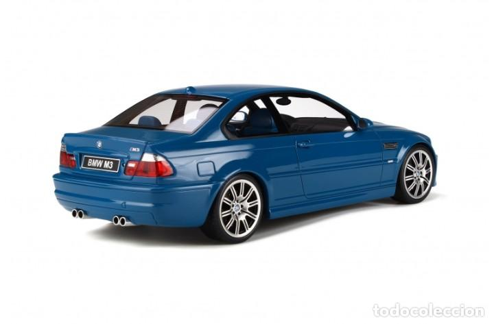 Coches a escala: BMW M3 E46 2000 Azul alguna seca. Escala 1/18 Otto mobile - Foto 2 - 282483288