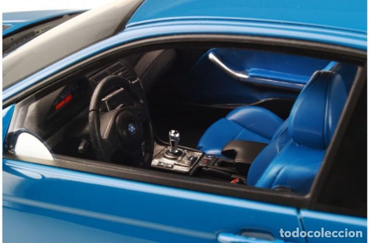 Coches a escala: BMW M3 E46 2000 Azul alguna seca. Escala 1/18 Otto mobile - Foto 4 - 282483288