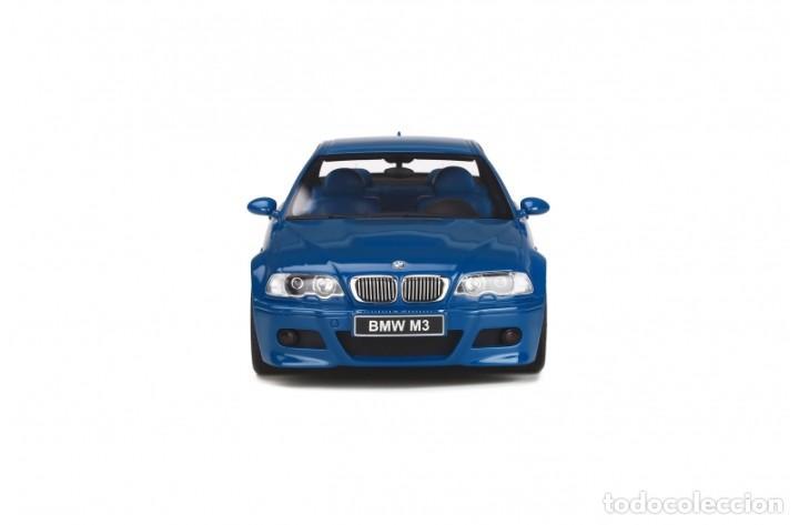 Coches a escala: BMW M3 E46 2000 Azul alguna seca. Escala 1/18 Otto mobile - Foto 6 - 282483288