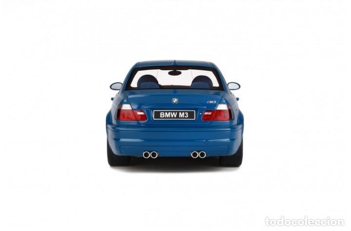 Coches a escala: BMW M3 E46 2000 Azul alguna seca. Escala 1/18 Otto mobile - Foto 7 - 282483288