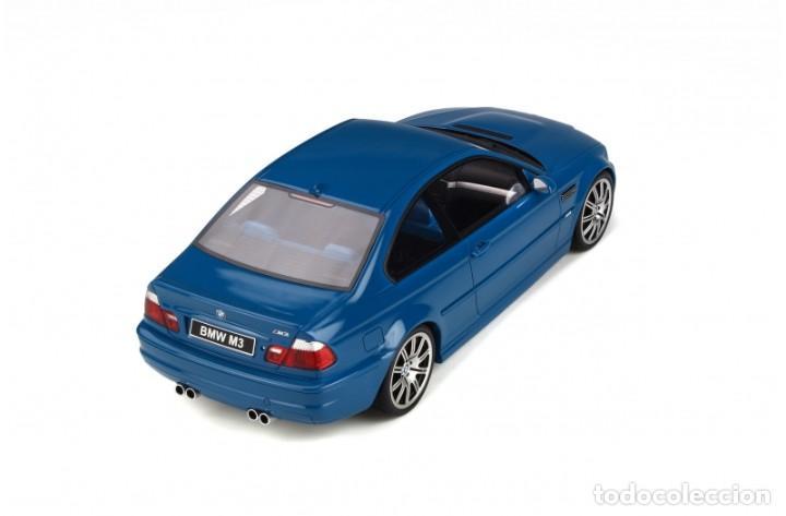Coches a escala: BMW M3 E46 2000 Azul alguna seca. Escala 1/18 Otto mobile - Foto 8 - 282483288
