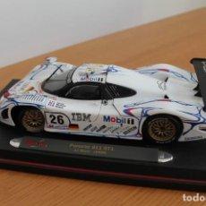 Coches a escala: PORSCHE 911 GT1 LEMANS 1998 , MAISTO 1:18. Lote 293637453