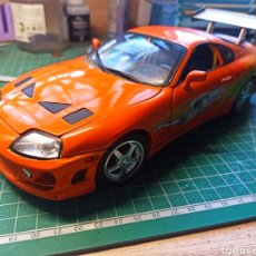 Coches a escala: RACING CHAMPIONS 1/18 FAST AND FURIOUS 1995 TOYOTA SUPRA PAUL WALKER. Lote 293679308