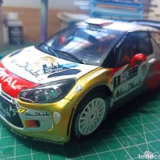 Coches a escala: CITROEN DS3 WRC RALLY ARGENTINA 2013 #1 S.LOEB 1/18 IXO ALTAYA. Lote 294008633