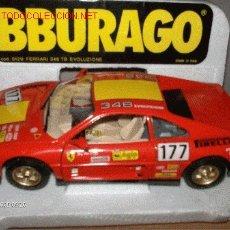 Coches a escala: BURAGO ---- FERRARI 348 TB EVOLUZIONE. Lote 27370428