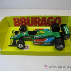 Coches a escala: BENETTON FORD, REF. 6102 DE BBURAGO, ESCALA 1/24. Lote 23013717
