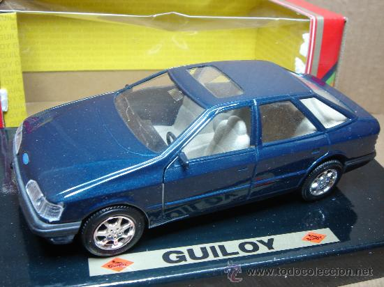 Coches a escala: COCHE METAL GUILOY - FORD SCORPIO 2.9.1 EFI REF: 64538 ESC:1/24 - MADE IN SPAIN - Foto 1 - 116503462