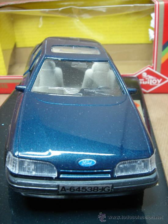 Coches a escala: COCHE METAL GUILOY - FORD SCORPIO 2.9.1 EFI REF: 64538 ESC:1/24 - MADE IN SPAIN - Foto 2 - 116503462