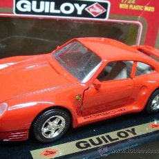 Coches a escala: COCHE METAL GUILOY - PORSCHE 959 REF:64569 ESC:1/24 - MADE IN SPAIN + CAJA. Lote 25515486