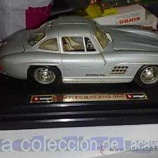 Coches a escala: MERCEDES BENZ 300 SL AÑO 1954 DE LA CASA BURAGO. Lote 19047507