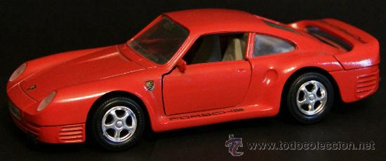 In Made Guiloy Porsche Juguete Figura 959 Spain Coche Cm 018 16 29EHWYDI