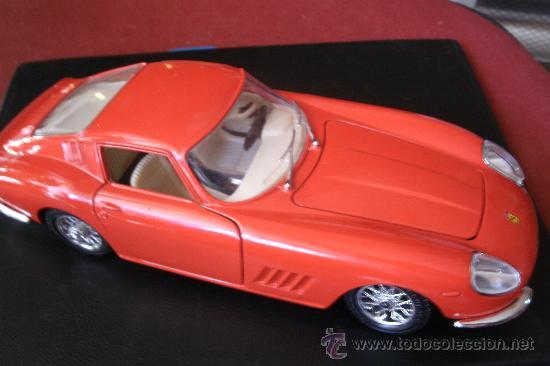 FERRARI 275 GTB 4 DEL AÑO 1966 -- MARCA BURAGO (Juguetes - Coches a Escala 1:24)