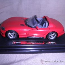 Coches a escala: BURAGO VIPER RT/10 DODGE 1/24. Lote 33663559