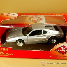 Coches a escala: GUILOY 1/24 RF: 64588 - FERRARI GTO PININFARINA - MADE IN SPAIN - NUEVO EN CAJA. Lote 34117469