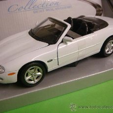 Coches a escala: COCHE JAGUAR XK8 DE COLLECTION,COLOR BLANCO. Lote 34390382