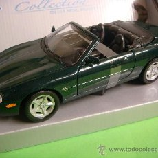 Coches a escala: COCHE JAGUAR XK8 DE COLLECTION,COLOR VERDE.. Lote 183440971