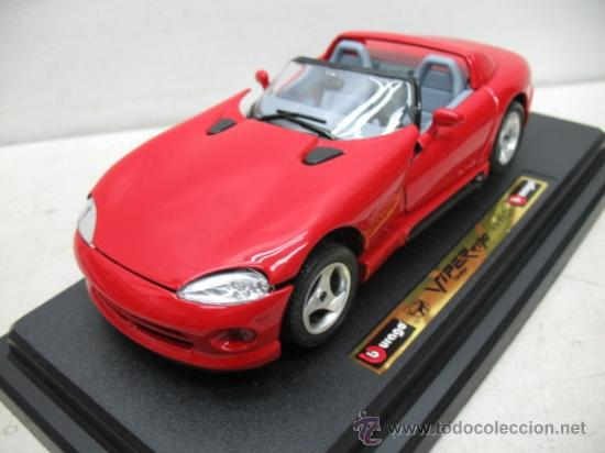 Coches a escala: Burago - Coche Dodge Viper RT/10 1992 - Escala 1:24 - Foto 3 - 34932836