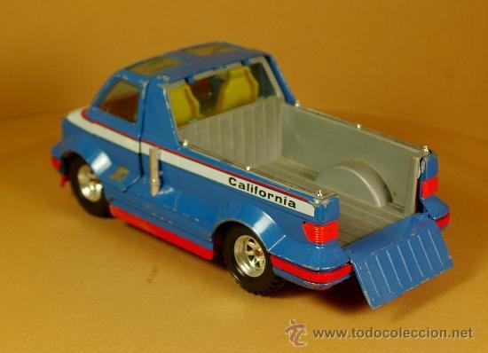 Coches a escala: GMC CALIFORNIA VAN Modelo Exclusivo de BBURAGO Burago - Made in Italy Vintage 1983 - Foto 3 - 35271982