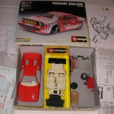 Coches a escala: FERRARI 308 GTB DE BURAGO EN CAJA. Lote 35452977