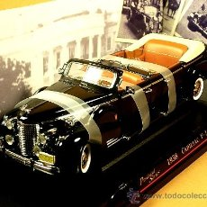 Coches a escala: CADILLAC V16 PRESIDENTIAL LIMOUSINA PRESIDENCIAL 1938 ROAD SIGNATURE YAT MING 1/24 NUEVO CAJA. Lote 35638800