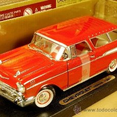 Coches a escala: CHEVROLET BELAIR NOMAD BREAK BEL AIR - YAT MING ROAD LEGENDS YATMING - ESC. 1/24 - NUEVO SIN ABRIR. Lote 37931046