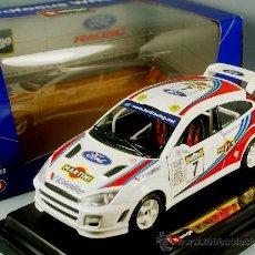 Coches a escala: FORD FOCUS WRC1999 MARTINI RACING - BURAGO - ESC. 1/24 BBURAGO METAL - NUEVO EN SU CAJA. Lote 37978546