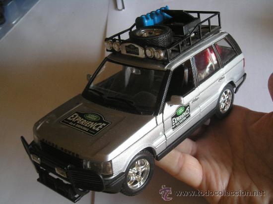 burago coche aventura desierto range rover gris - verkauft durch